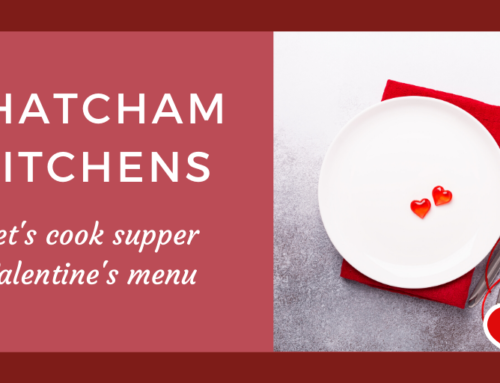 Let's cook supper: Valentine's event